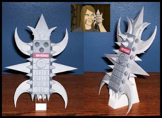 Metalocalypse Dethphone Papercraft
