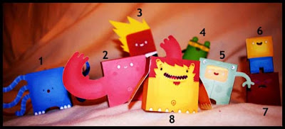 Petite Monster Papercraft