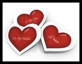 Valentine Day Papercraft