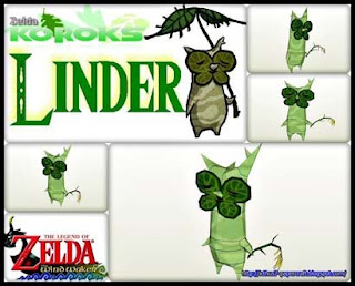 Legend of Zelda Korok Linder Papercraft