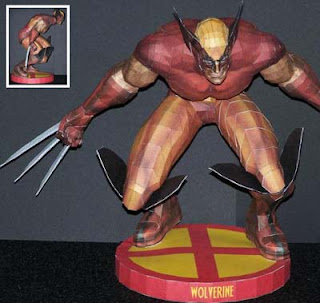 X-Men Wolverine Papercraft