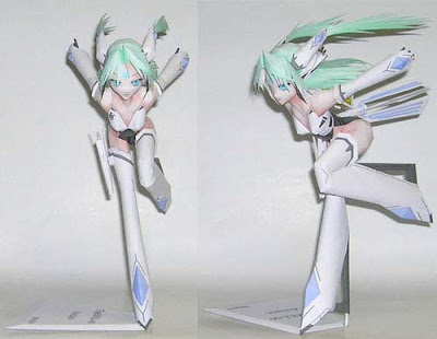 Anime Papercraft Anemoi TipeDOLL