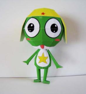Keroro Gunso - Sgt. Frog Papercraft