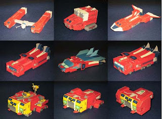Space Runaway Ideon Papercraft