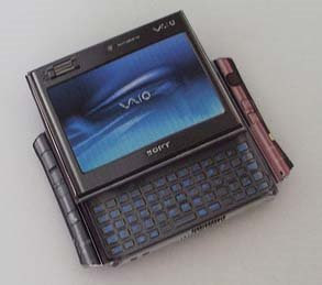 Sony VAIO UX Micro PC Papercraft