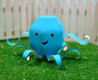 Zooguu Octopus Papercraft