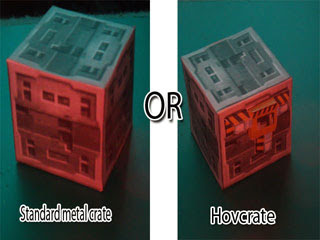 Hover Crate Papercraft