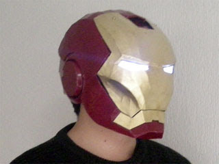 Iron Man Helmet Papercraft