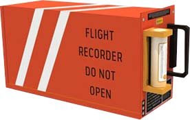 Flight Data Recorder Papercraft