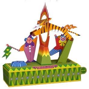 Circus Tiger Papercraft