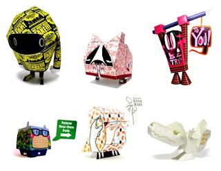 Papercraft Toys 2