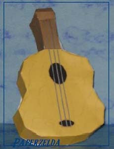 Sea Ukelele Papercraft
