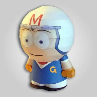 Speed Racer Papercraft 1