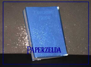 Touching Book Papercraft