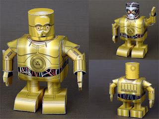C3PO Papercraft