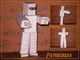 Gibdo Papercraft