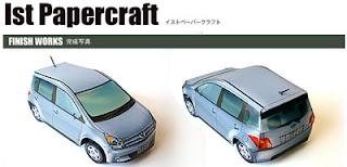 Toyota ist Papercraft