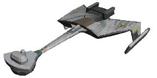 Klingon Ktinga Papercraft