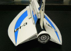 Ultra Hawk 3 Papercraft
