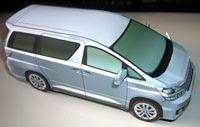 Toyota Vellfire Papercraft