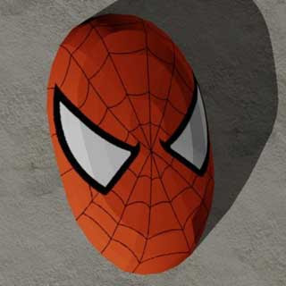 Spiderman Mask Papercraft