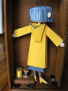 Coraline Doll Papercraft