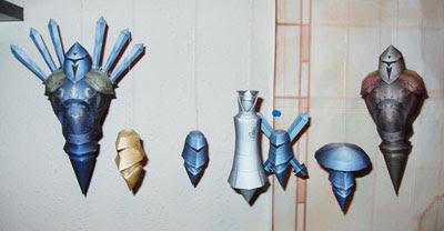 Dissidia Final Fantasy Papercraft