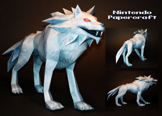 White Wolfos Papercraft