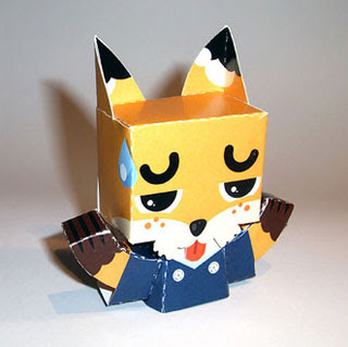 Kitsune Papercraft