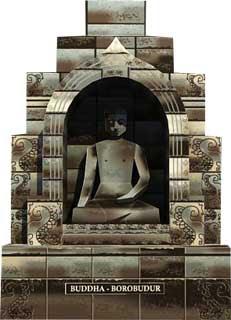 Buddha Papercraft