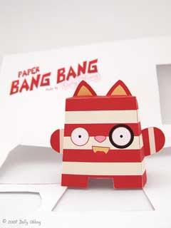Bang Bang Papercraft