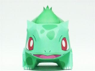 Bulbasaur Papercraft Pokemon 2