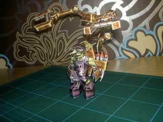 Goblin Tinker Papercraft