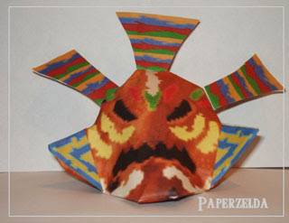 Odolwa Mask Papercraft