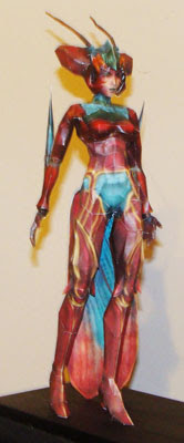 Magus Sisters - Sandy Papercraft