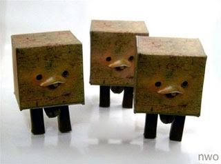 Square Robot Papercraft
