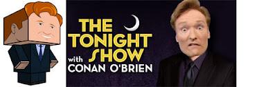 Conan O'Brien Papercraft