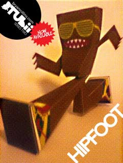 Tubii Paper Toy Hipfoot