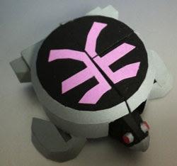 Kame Origami Mecha Papercraft