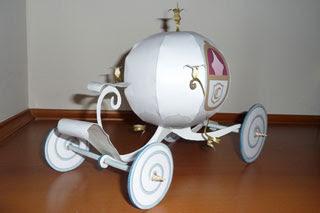 Cinderella Coach Papercraft