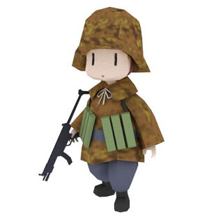 Soldier Papercraft