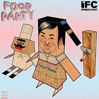 IFC Food Party Papercraft