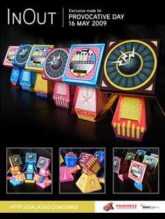 Provocative Papercraft Toys