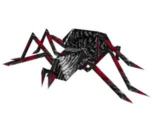 Giant Spider Papercraft