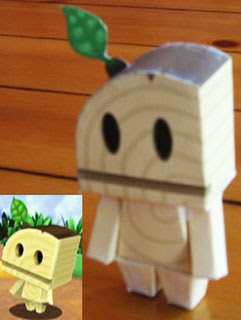 Super Mario Galaxy Papercraft