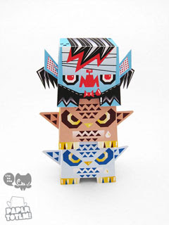 Chobopop Paper Toy
