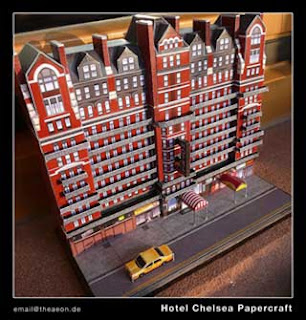 Hotel Chelsea Papercraft
