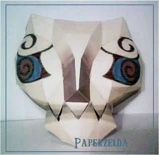 Poe Mask Papercraft