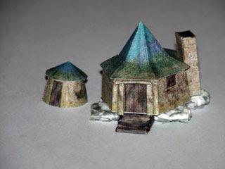 Hagrid's Hut Papercraft