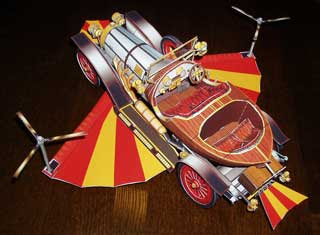 Chitty Chitty Bang Bang Papercraft